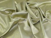 Metallic Brocade Fabric  Champagne
