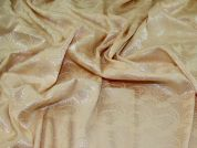 Stretch Jacquard Fabric  Sand