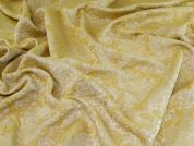 Textured Jacquard Fabric  Golden
