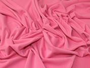 Crepe Jersey Knit Fabric  Pink