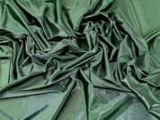 Satin Twill Knit Fabric  Green