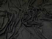 Silky ITY Knit Fabric  Black