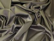 Stretch Sateen Fabric  Pewter