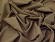 Stretch Suiting Fabric  Soft Brown