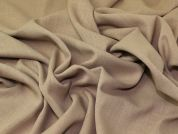 Linen Look Suiting Fabric  Sand