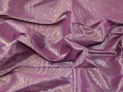 Stretch Taffeta Fabric  Pink