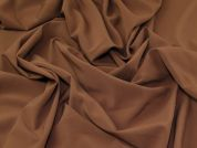 Stretch Suiting Fabric  Chocolate Brown