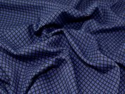 Stretch Suiting Fabric  Navy Blue