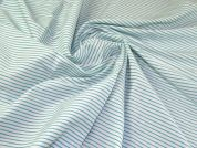 Stretch Shirting Fabric  Turquoise