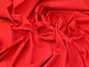 Stretch Shirting Fabric  Red