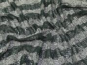 Sequin Mesh Lace Fabric  Green