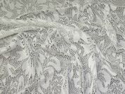 Stretch Lace Fabric  Ivory