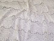 Floral Lace Fabric  Cream