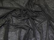 Stretch Lace Fabric  Black