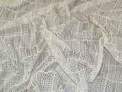 Patchwork Lace Fabric  Cream