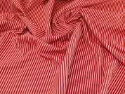 Woven Jacquard Fabric  Red