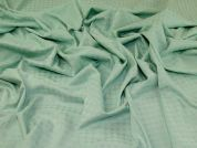 Stretch Jacquard Fabric  Mint Green