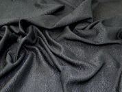 Metallic Jacquard Fabric  Gunmetal