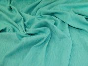Stretch Jacquard Fabric  Sea Green