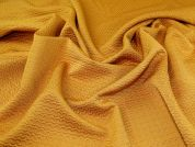 Textured Jacquard Fabric  Gold