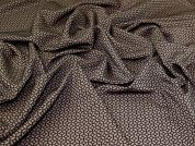 Stretch Jacquard Fabric  Brown & Taupe