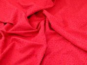 Textured Jacquard Fabric  Pink & Red