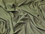 Rib Jersey Knit Fabric  Sage Green