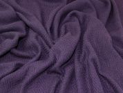Wool Blend Coating Fabric  Deep Purple