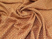 Wool Blend Coating Fabric  Orange