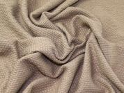 Wool Blend Coating Fabric  Beige