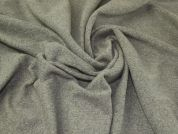 Textured Wool Knit Fabric  Grey