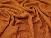 Wool Blend Coating Fabric  Ginger