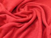 Wool Blend Coating Fabric  Red