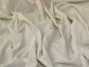 Crinkle Shirting Fabric  Cream