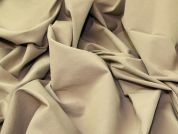 Stretch Bengaline Fabric  Beige