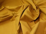 Coated Cotton Fabric  Mustard
