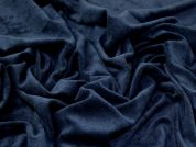 Textured Knit Fabric  Navy Blue