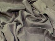 Washed Satin Fabric  Grey