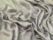 Rayon Crepe Fabric  Silver Grey