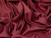 Stretch Crepe Fabric  Plum