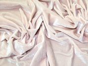 Velour Knit Fabric  Pastel Pink