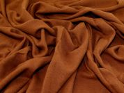 Wool Coating Fabric  Rust