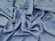 Wool Coating Fabric  Sky Blue