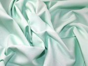 Plain Woven Cotton Broadcloth Dress Fabric  Mint Green