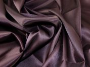 Plain Satin Crepe Dress Fabric  Aubergine