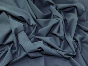 Soft Touch Stretch Twill Dress Fabric  Dark Grey
