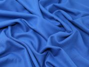 Twill Weave Wool Blend Suiting Dress Fabric  Royal Blue