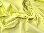 Plain Stretch Cotton Twill Dress Fabric  Yellow