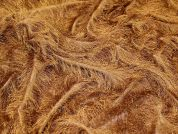 Eyelash Fur Textured Dress Fabric