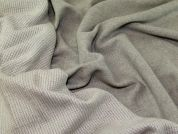 Reversible Wool Coating Fabric  Grey
